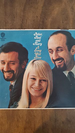 Peter Paul and Mary A Song Will Rise Vinyl Record LP VG+ for Sale in Tacoma, WA