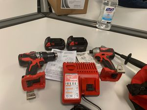 Milwaukee red lithium m18 (1) -4.0 battery and (1) 2.0 battery for Sale in Cincinnati, OH