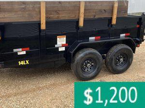 Price$12OO BIG-TEX 14LX 2017 hydraulic dump for Sale in Grand Rapids, MI