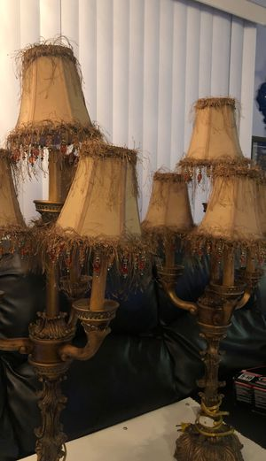 2 unique similar lamps for Sale in Poway, CA