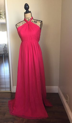Prom dress watermelon color for Sale in Riverside, CA