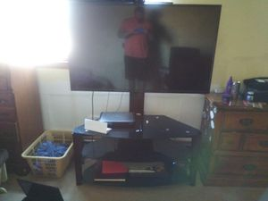 55 inch tv and stand for Sale in Wyandotte, MI