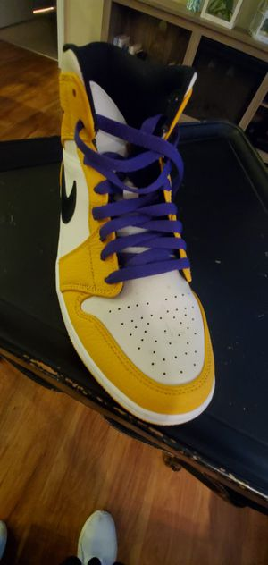 "Air Jordan 1 Mid Se ""Lakers"" for Sale in Irvine, CA"