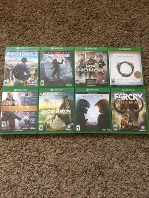 Games for Xbox one all $85 for Sale in Salt Lake City, UT