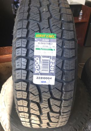 LT265/70R16. $450 Tax and labor not included for Sale in Sacramento, CA