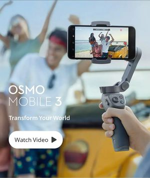 DJI Osmo Mobile 3 Motion stabilizer for Sale in El Mirage, AZ
