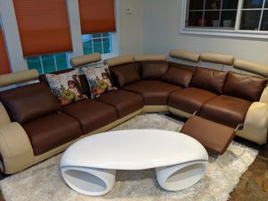 Modern Contemporary Sofa and Coffee table for Sale in Ashburn, VA