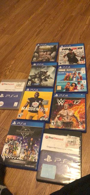 Ps4 games for Sale in Bridgeport, CT