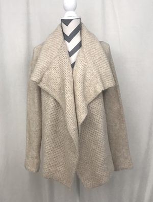 Loft Cream Chunky Knit Open Front Cardigan - Size Small for Sale in South Windsor, CT
