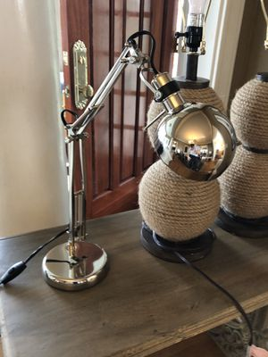 Silver Lamp for Sale in Seattle, WA
