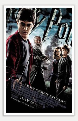 Harry Potter and the Half-Blood Prince Movie Theater Poster! for Sale in Traverse City, MI