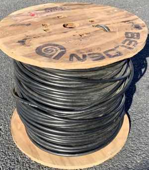 Unused 500' Roll of BELDEN 8237 RG-8/U VW-1 Coaxial Cable for Sale in Chesapeake, VA