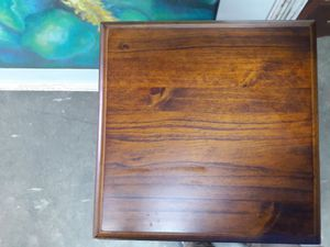 Small tall square table with drawer for Sale in Mooresville, NC