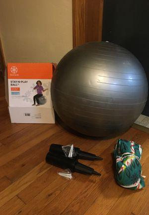 Gaiam Kids Balance Ball - Exercise Stability Yoga Ball, Kids Alternative Flexibl for Sale in Chesapeake, VA