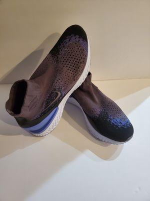 New Nike Men's Rise React Flyknit Shoes Thunder Grey AV5554 055 Sz 11.5 for Sale in Las Vegas, NV