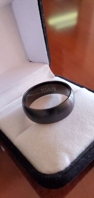Brushed Titanium, Men's Ring, Size 7, 11, 12 & 13 for Sale in Portland, OR