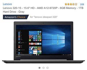 Lenovo IdeaPad 320-15ABR for Sale in Everett, MA