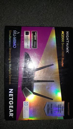 Nighthawk AC2300 NETGEAR WIFI Router for Sale in Oakland, CA