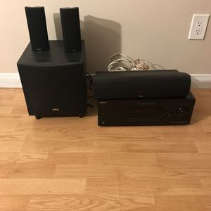 RCA STR-DG520 Multichannel Audio Video Home Theater Receiver w/ 4-Speaker Surround Sound for Sale in Fullerton, CA