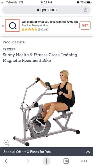 Sunny Health and fitness cross training for Sale in Tampa, FL