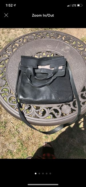 Lucky Brand black leather purse for Sale in Torrance, CA