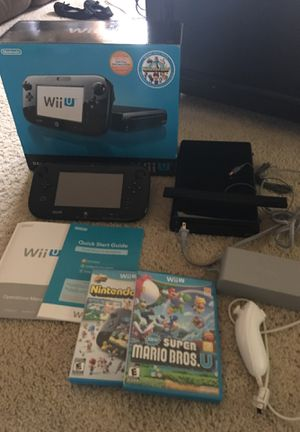 Nintendo Wii U for Sale in Bothell, WA