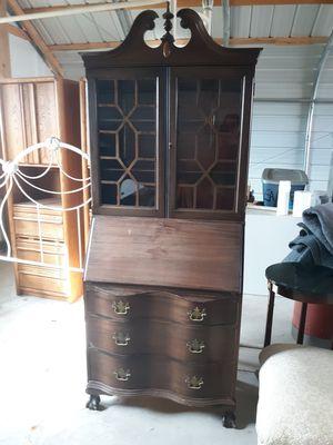 Antique Secretary cabinet for Sale in Denver, CO