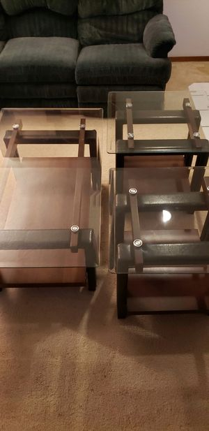 3 Piece Table Set - Coffee Table and Two Side Tables for Sale in Portland, OR
