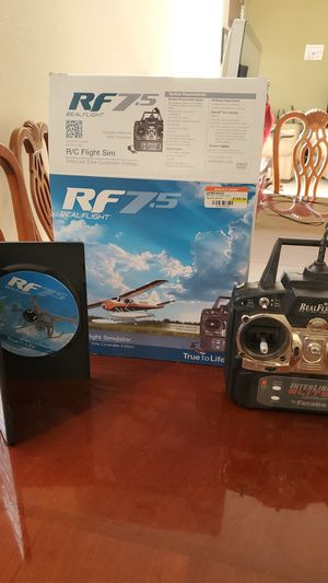 Real Flight R/C flight simulator with controller for Sale in Fort Lauderdale, FL