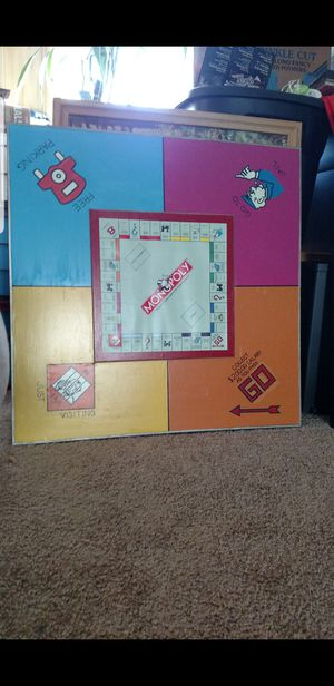 Monopoly Hanging Picture for Sale in Anaconda, MT