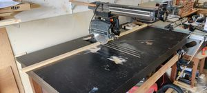 Craftsman 10 inch radial arm saw with large table for Sale in Everett, WA