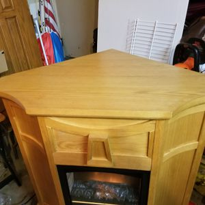 Corner or against wall Fire Place for Sale in Joliet, IL