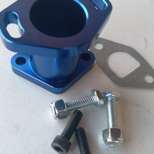 Go Kart / Mini Bike / MiniBike / Go Cart / Predator 212cc Blue Manifold With Gasket & Hardware for Sale in Los Angeles, CA