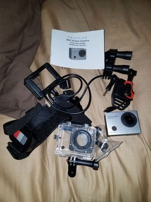 go pro like action cameras for Sale in Evesham Township, NJ