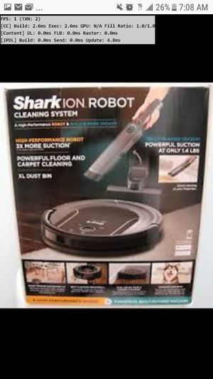 Shark Ion S87 Robot vaccuum NEW for Sale in Bel Aire, KS