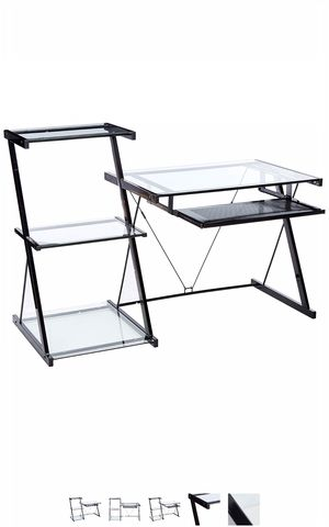 Z- Line Nero Desk and Bookcase for Sale in Pasadena, CA