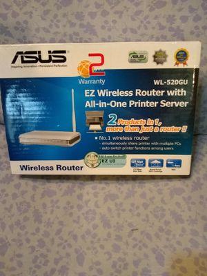 Asus router printer server. New. Location Western & Devon Chicago for Sale in Evanston, IL