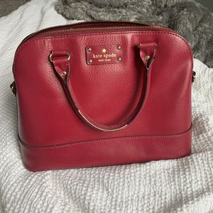 Kate spade red purse for Sale in Columbus, OH