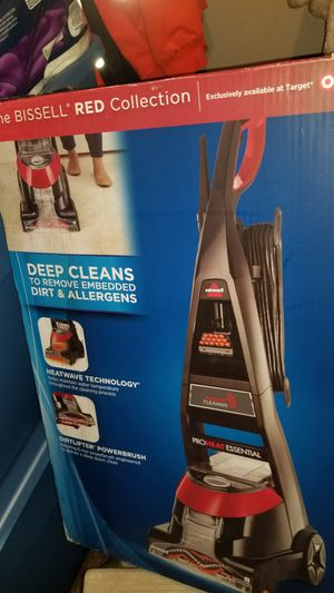 BISSELL PROHEAT ESSENTIAL UPRIGHT DEEP CLEANER for Sale in Santa Ana, CA