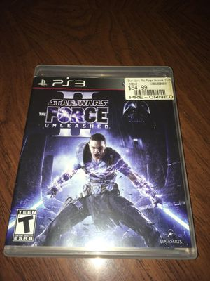 PS3 Star Wars Unleashed 2 for Sale in Hialeah, FL