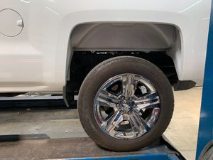 20 inch rims and tires chrome for Silverado suburban Tahoe Yukon for Sale in Baldwin Park, CA