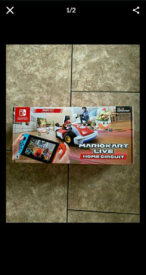 Mario Kart Live Home Circuit Nintendo Switch Game for Sale in Fontana, CA