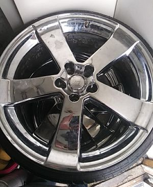 """4 Low profile 20"""" Chrome rims for Sale in Columbus, OH"""
