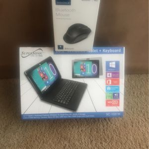 """10.1"""" Windows Tablet + Keyboard + bluetooth mouse + case for Sale in Cleveland, OH"""