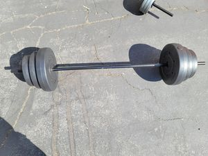 Cap Barbell 100lb weight set for Sale in Rowland Heights, CA