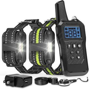 Dog Training Collar, 2600ft Range Dog Shock Collar Waterproof Shock Collar for 2 Dogs with 4 Training Modes Light Static Shock Vibration Beep for Sale in Pomona, CA