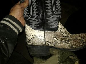 Snakeskin boots soletech for Sale in Las Vegas, NV