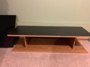 Wood TV Stand for Sale in BETHEL, WA