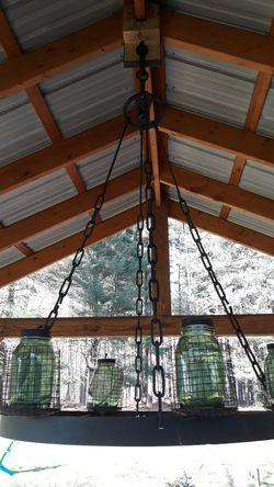 Mason jar chandelier for Sale in Gaithersburg,  MD