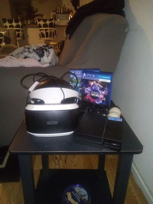 PSVR 2 aim controller's and 2 vr games best offer for Sale in Selma, AL